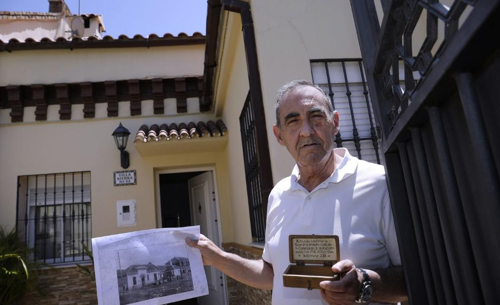 A house fit for a real king in a working-class area of Malaga