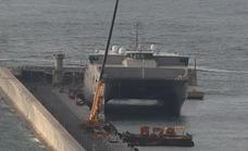 Unusual US military visitor spotted in secure area at Malaga Port