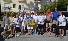 Nerja RBL launches poppy appeal with a walk