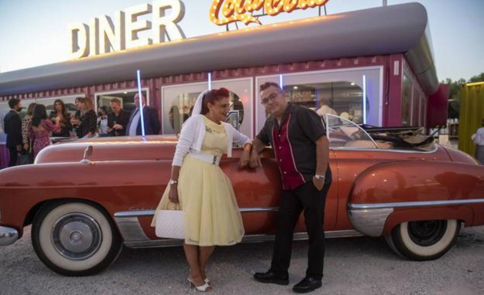 Back to the 50s at Malaga's drive-in cinema