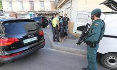 Heavily-armed crack police team arrest two in counter-terrorism raid in Malaga city centre