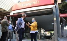 Fuengirola mayor calls for greater speed in train station works