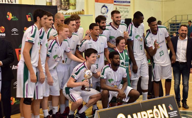 La victoria del Unicaja en la Copa de Andalucía, en imágenes
