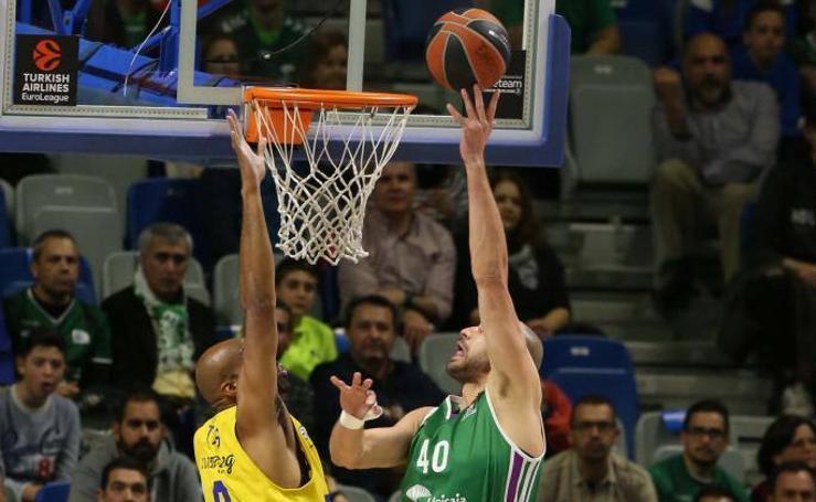 El Unicaja-Maccabi, en fotos