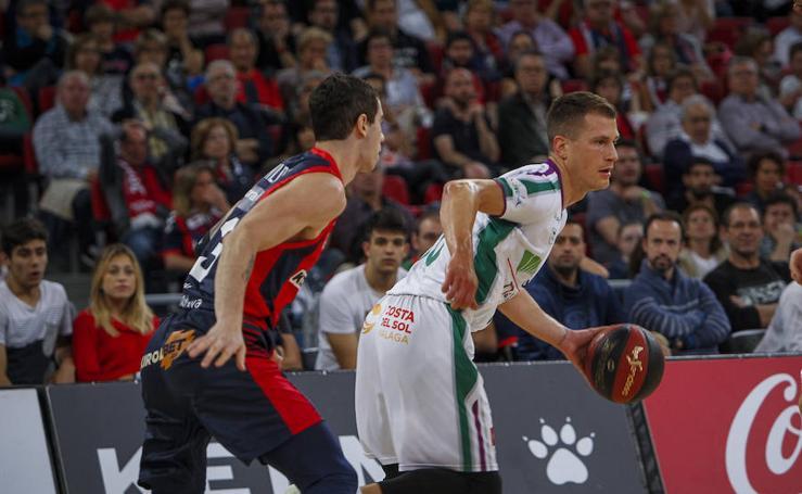 Así fue el primer partido del 'play-off' entre el Baskonia y el Unicaja