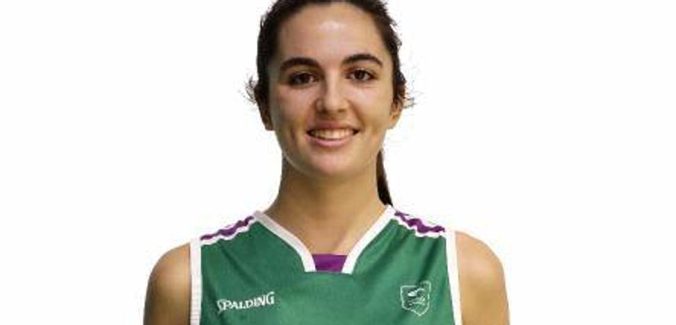 Ana Jiménez, primera internacional del Unicaja