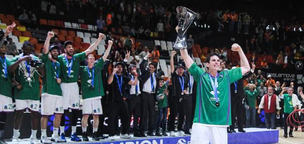 El Unicaja, que es cabeza de serie en el sorteo, conoce a sus rivales en la Eurocup