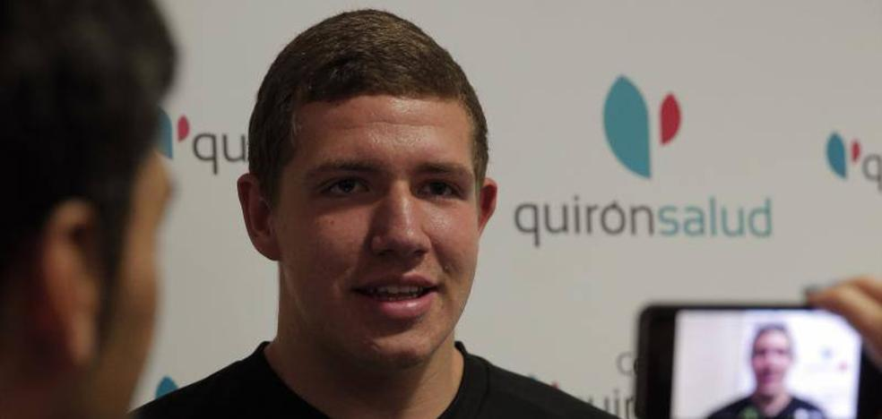 Morgan Stilma, el jugador número 13 del Unicaja: «Mi ilusión es debutar con el primer equipo»