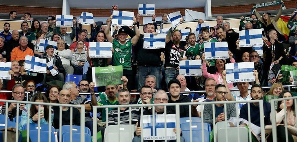 El Unicaja ya chapurrea el finés