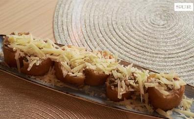 Así se hace el flamenquín ibérico con trufa y parmesano del restaurante Cávea