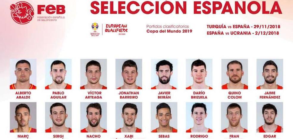 Scariolo vuelve a reclutar a Jaime Fernández