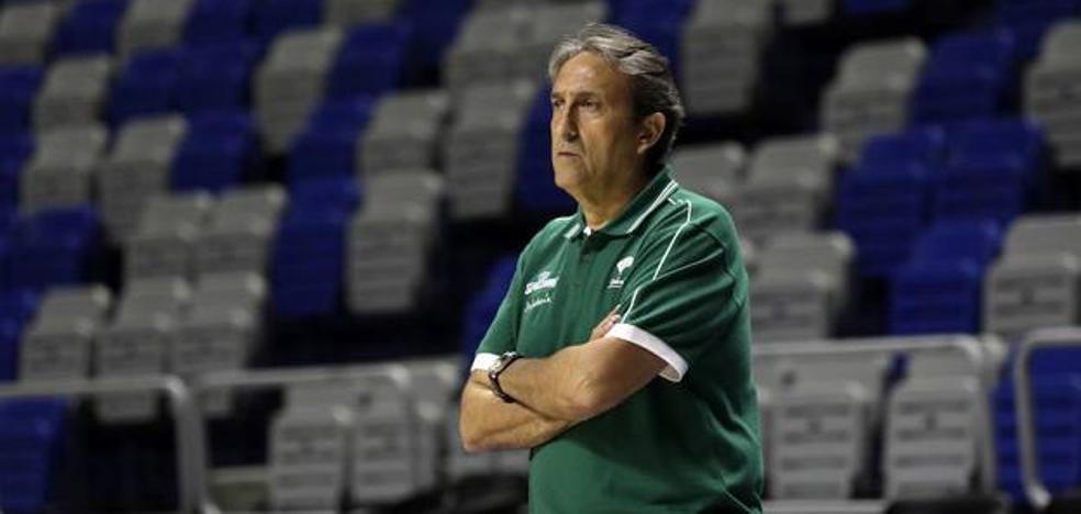 Casimiro, entrenador del Unicaja: «Nuestra exigencia tiene que ser máxima siempre»