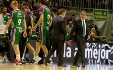 Casimiro: «Ha sido el primer partido en que no hemos competido»