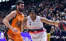 El Valencia pierde a San Emeterio para el choque del miércoles
