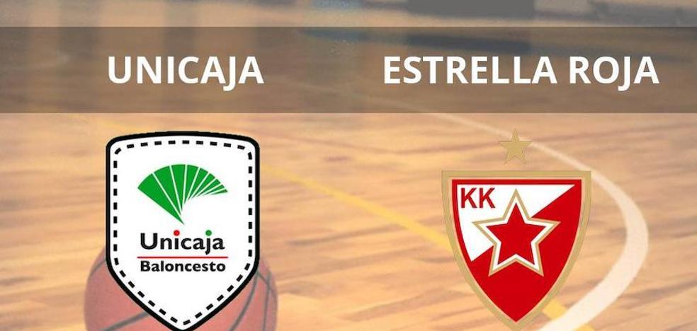 El Unicaja logra una victoria clave ante el Estrella Roja (79-74)