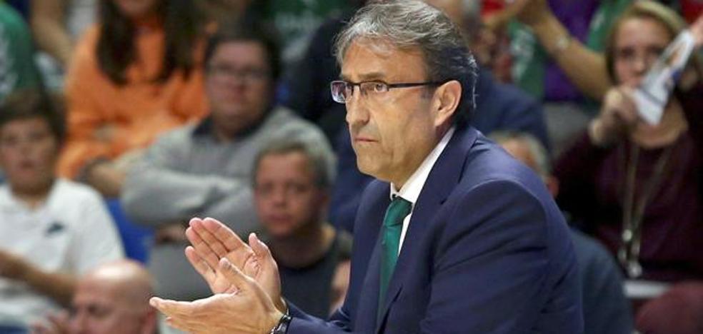 Luis Casimiro: «A la fuerza, estamos aprendiendo a jugar con las bajas»