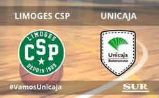 El Unicaja logra un triunfo clave en Limoges (77-78)