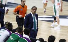 Luis Casimiro: «No hemos sido capaces de entrar en el partido»