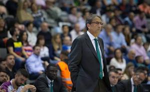 Luis Casimiro: «Jugamos mal ante un equipo muy tensionado y con mucha energía»