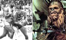 Cuando Chewbacca jugó al baloncesto en el Caja de Ronda