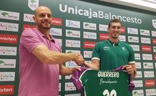 Presentación de Rubén Guerrero como jugador del Unicaja
