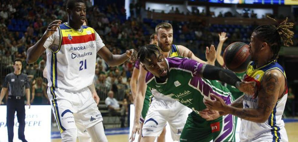 Triunfo sin brillo del Unicaja y a por los 'play-off'