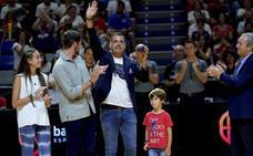 Dani Hierrezuelo recibe la medalla de oro de la Federación Española