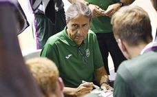 Luis Casimiro: «Tácticamente, el equipo en ataque aún está al 20%»