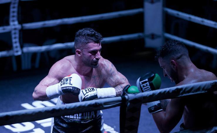 La velada de boxeo del club Saga Heredia, en imágenes
