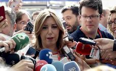 Susana Díaz recuerda a Sánchez que «no hay una mayoría alternativa»
