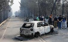 La Policía apunta a un rayo como causa del incendio en Portugal