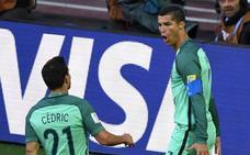 Portugal rentabiliza el gol de Cristiano