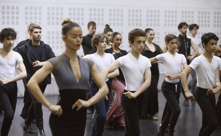 Clase magistral del musical Billy Elliot con el Ballet Nacional