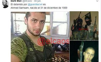 Ahmed Samsam, un peligroso yihadista del Daesh que recaló en Málaga