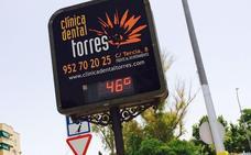 Antequera registra hoy la temperatura más alta de España