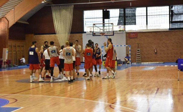 La selección española de baloncesto del futuro se pone a punto