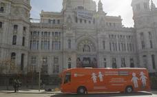 La Audiencia de Madrid permite otra vez circular al autobús de HazteOír