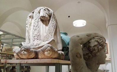 La historia tras la Virgen sin cabeza del Museo de Málaga
