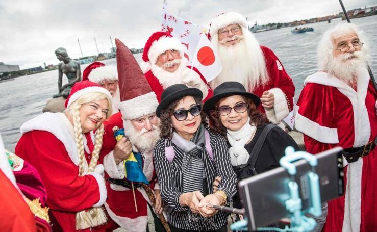 Congreso Mundial de Santa Claus en Copenhague