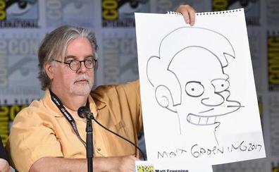 El creador de los Simpsons hará una serie para Netflix
