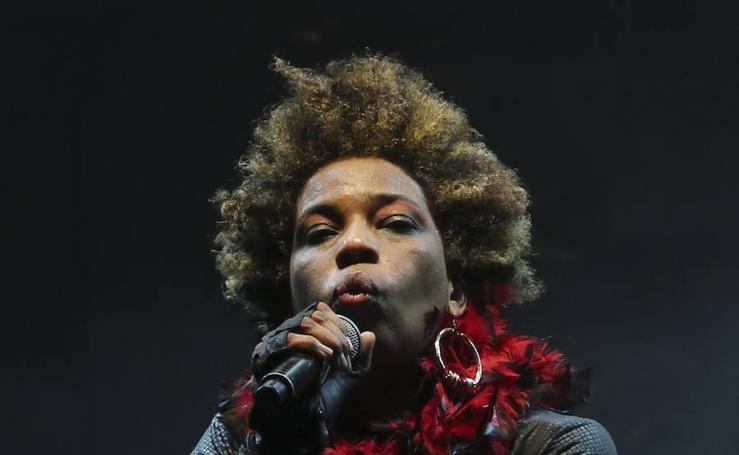Fotos del concierto de Macy Gray en Benalmádena