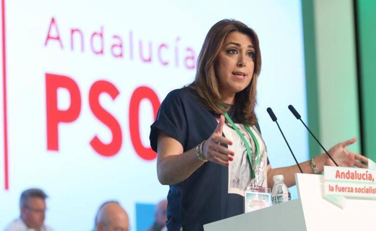 Fotos del congreso del PSOE-A en Sevilla