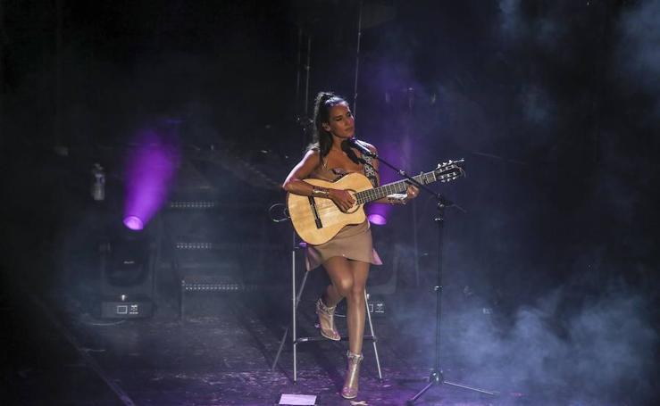 Fotos del concierto de India Martínez en Benalmádena