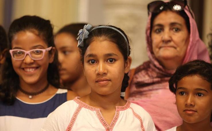'Vacaciones en paz', un programa de acogida de niños saharauis
