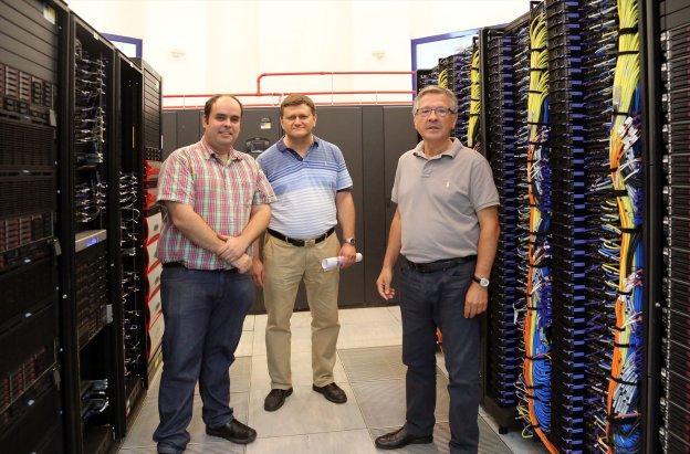 El 'picasso' coloca a la UMA a la vanguardia de los grandes supercomputadores