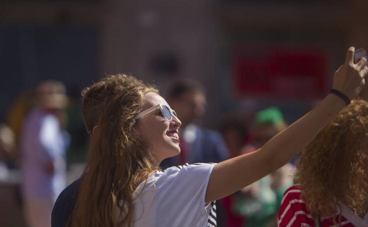 Las mejores fotos de la primera jornada de feria en el Centro de Málaga