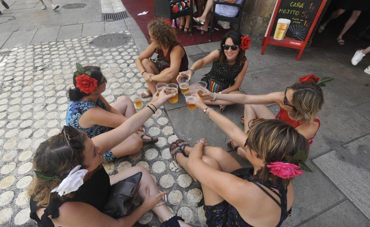 Las mejores fotos del martes de Feria en el Centro de Málaga (I)