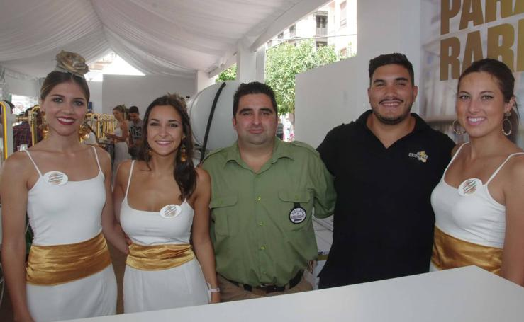 Las fotos de la Caseta Abanico de SUR este martes de Feria