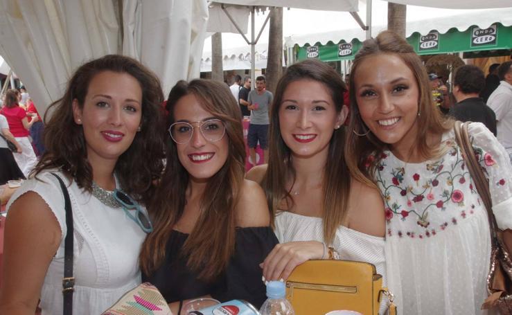 La Caseta Abanico, este miércoles de Feria