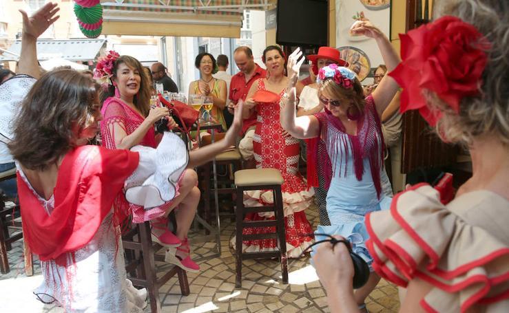 La Feria de Málaga sin descanso el jueves en el Centro